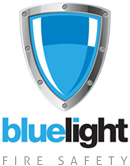 Blue Light Safety Logo